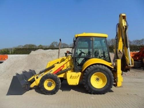 new holland tractor loader 345d 445d 545d owner manual