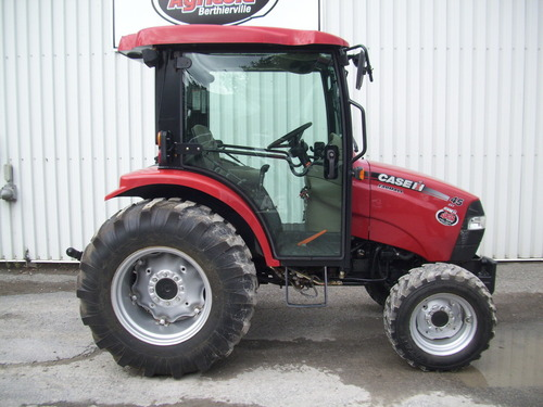 Case 50 Tractor : Case ih farmall tractor with cab and cvt