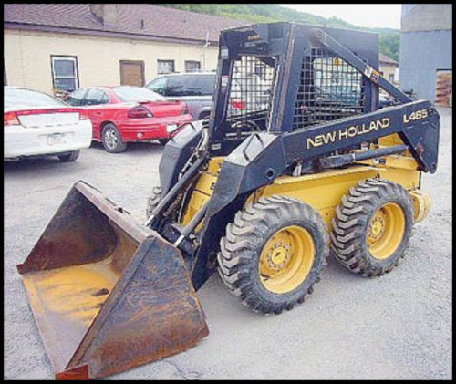 New Holland 465 Manual