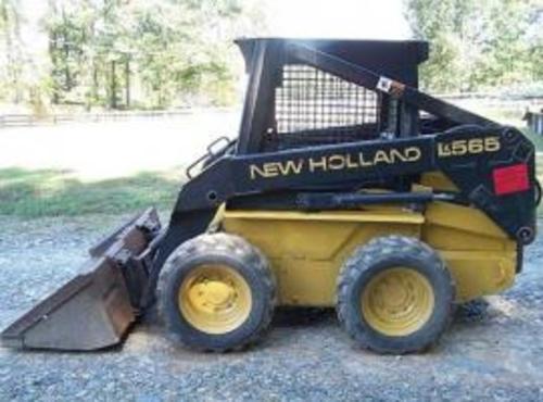 NEW HOLLAND L565 LX565 LX665 SKID STEER LOADER OPERATORS MANUAL