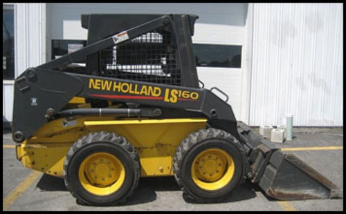 Pay for NEW HOLLAND LS160 LS170 SKID STEER LOADER OPERATORS MANUAL #1