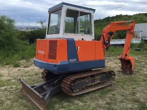 Hitachi ex 30 excavator