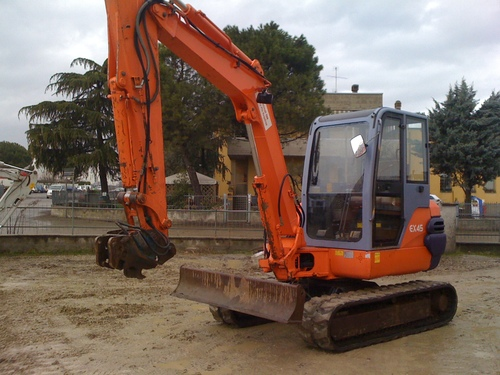 Pay for HITACHI EX45-2 EXCAVATOR EQUIPMENT COMPONENTS  PARTS CATALOG MANUAL ( Serial Number: 000101 and up )
