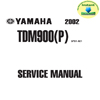 Thumbnail Yamaha_TDM900P_2002_Sevice Repair & Maintenece Manual