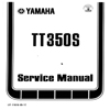 Thumbnail Yamaha_TT350S  Service  Repair & Maintenence Manual