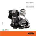 Thumbnail KTM 400 - KTM 660 LC4 1998 to 2003 Repair Manual KTM400 KTM600 387 pages