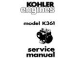 Thumbnail KOHLER K361 k 361 Service Repair Manual Kohler Engines