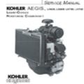 Thumbnail KOHLER AEGIS LH630 LH685 LH750 LH760 Service Repair Manual LIQUID-COOLED HORIZONTAL CRANKSHAFT