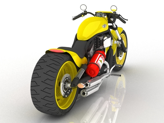 Pay for Detailed 3D MODEL cg Harley Davidson Motorbike 3ds MAX vray