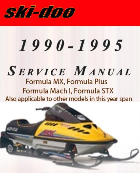 L1 skidoo all ski doo service repair manual 1990 1991 1992 1993 1994 1995 for 1991 Ski-Doo Mach 1 Parts at creativeand.co
