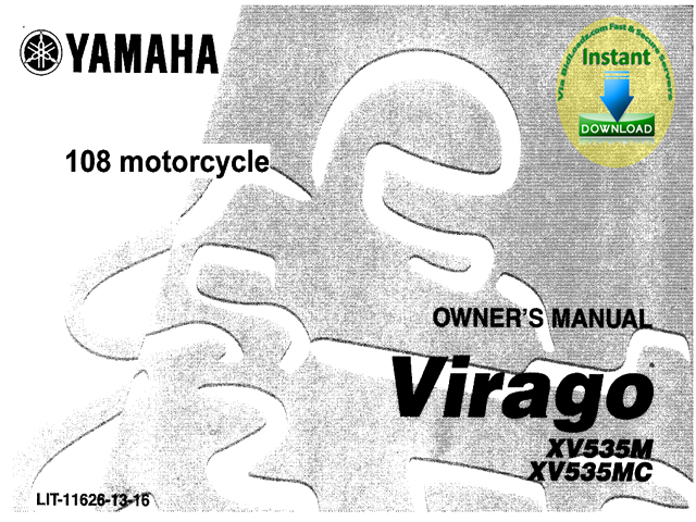free yamaha xv250k kc virago owners manual download best. Black Bedroom Furniture Sets. Home Design Ideas