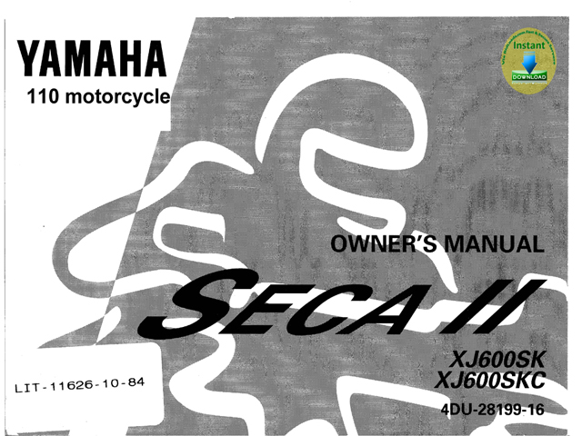 Yamaha Sk Service Manual