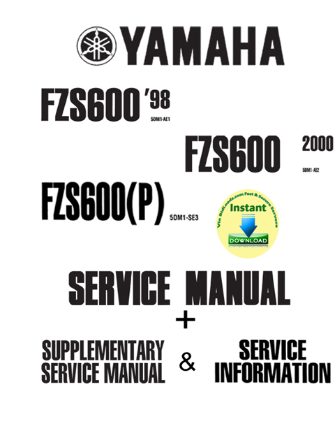 Pay for Yamaha_Fazer_FZS600 3 in 1 User Manual  Pakage (Service Repair  supplementary Full Speccification)