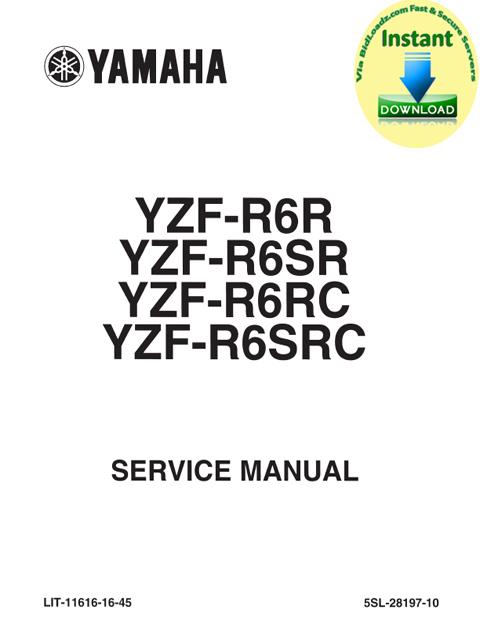 yamaha yzf r6 r sr rc src 2003 service repair maintenance. Black Bedroom Furniture Sets. Home Design Ideas
