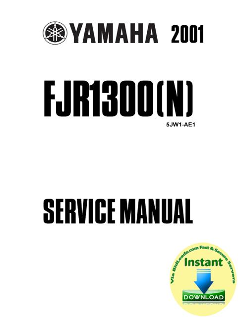 yamaha fjr1300 n 2001 service repair manual download. Black Bedroom Furniture Sets. Home Design Ideas