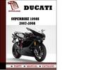 Thumbnail Ducati Superbike 1098S parts manual (catalogue) 2007 2008 Pdf Download ( English,German,Italian,Spanish,French)