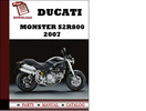 Thumbnail Ducati Monster S2R800 parts manual (catalogue) 2007 Pdf Download ( English,German,Italian,Spanish,French)