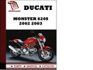 Thumbnail Ducati Monster 620S parts manual (catalogue) 2002 2003 Pdf Download ( English,German,Italian,Spanish,French)
