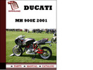 Thumbnail Ducati MH 900e parts manual (catalogue) 2001 Pdf Download ( English,German,Italian,Spanish,French)