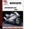 Thumbnail Ducati Supersport 620S parts manual (catalogue) 2003 Pdf Download ( English,German,Italian,Spanish,French)