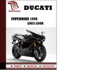 Thumbnail Ducati Superbike 1098 parts manual (catalogue) 2007 2008 Pdf Download ( English,German,Italian,Spanish,French)