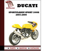 Thumbnail Ducati Sportclassic Sport 1000S parts manual (catalogue) 2007 2008 2009 Pdf Download ( English,German,Italian,Spanish,French)