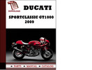 Thumbnail Ducati Sportclassic GT1000 Touring parts manual (catalogue) 2009 Pdf Download ( English,German,Italian,Spanish,French)