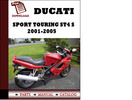 Thumbnail Ducati Sport touring ST4 S parts manual (catalogue) 2001 2002 2003 2004 2005 Pdf Download ( English,German,Italian,Spanish,French)