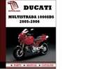 Thumbnail Ducati Multistrada 1000SDS parts manual (catalogue) 2005 2006 Pdf Download ( English,German,Italian,Spanish,French)