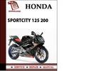 Thumbnail Aprilia SportCity 125 200 Workshop Service Repair Manual Pdf Download