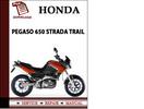 Thumbnail Aprilia Pegaso 650 Strada Trail Workshop Service Repair Manual Pdf Download