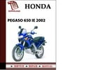 Thumbnail Aprilia Pegaso 650 IE 2002 Workshop Service Repair Manual Pdf Download