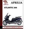 Thumbnail Aprilia Atlantic 500 Workshop Service Repair Manual Pdf Download