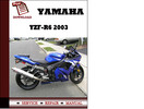 Thumbnail Yamaha YZF-R6 2003 Workshop Service Repair Manual Pdf Download
