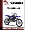 Thumbnail Yamaha YZ250T1 2005 Owners Workshop Service Repair Manual Pdf Download