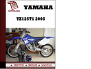 Thumbnail Yamaha YZ125T1 2005 Workshop Service Repair Manual Pdf Download