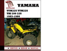 Thumbnail Yamaha YTM225 YTM225 Tri 200 225 1983 1984 1985 1986 Workshop Service Repair Manual Pdf Download