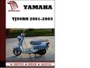 Thumbnail Yamaha YJ50RN 2001 2002 2003 Service manual Repair Manual Download