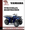 Thumbnail Yamaha YFM250XL(C) Beartracker Workshop Service Repair Manual Pdf Download