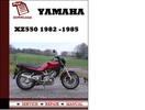 Thumbnail Yamaha XZ550 1982 1983 1984 1985 Workshop Service Repair Manual Pdf Download
