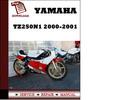 Thumbnail Yamaha TZ250N1 2000 2001 Owners Service Manual  Repair Manual Pdf Download