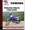Thumbnail Yamaha TTR250L(C) TR250 1999-2006 Workshop Service Repair Manual Pdf Download