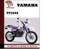 Thumbnail Yamaha TT350S Workshop Service Repair Manual Pdf Download