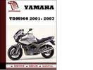 Thumbnail Yamaha TDM900 2001- 2007 Workshop Service Repair Manual Pdf Download
