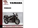 Thumbnail Yamaha FZR600 Workshop Service Repair Manual Pdf Download
