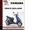Thumbnail Yamaha CS50 Z 2002-2005 Workshop Service Repair Manual Pdf Download