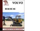 Thumbnail Volvo Excavator Parts Catalog Manual EC45 EC 45 Pdf Download