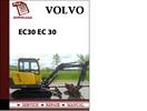 Thumbnail Volvo Excavator Parts Catalog Manual EC30 EC 30 Pdf Download