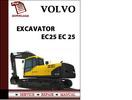 Thumbnail Volvo Excavator Parts Catalog Manual EC25 EC 25 Pdf Download