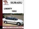 Thumbnail Subaru Liberty 1992 Workshop Service Repair Manual Pdf Download